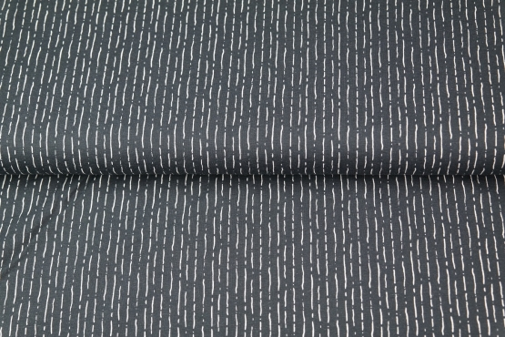 Streifen unterbrochen auf schwarz