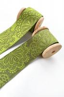 Spitzen Werk grün 17 mm
