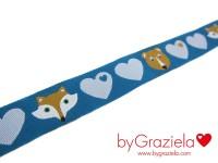 Fuchs Bär blau 15 mm