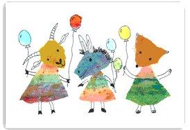 Ziegen Luftballon