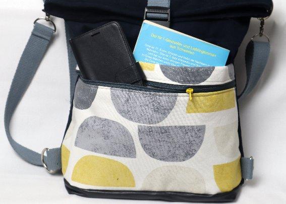 Vordere Taschen