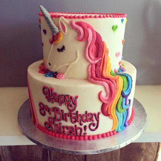 cumpleaños de niña unicornio