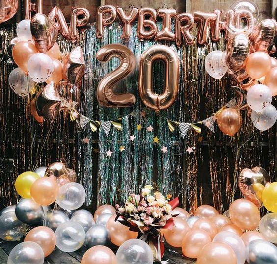 globos fiesta 20 años