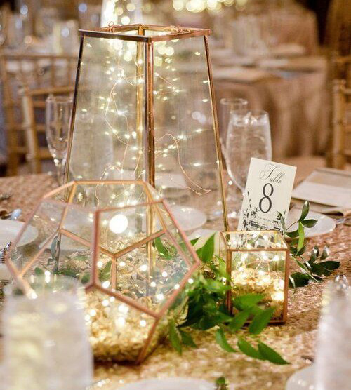 tendencias mesas para boda 2020