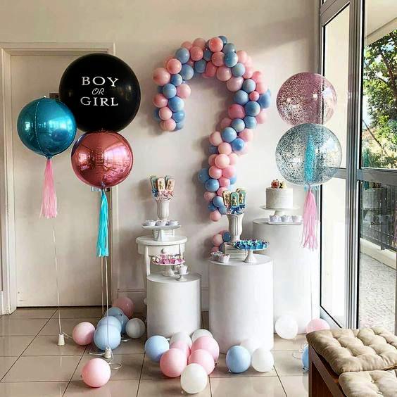 gender party en casa