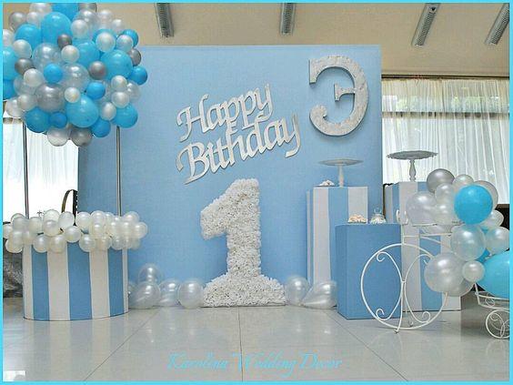 Decoracion Para Cumpleaños De Niños 1 Año Hábitos De Niños