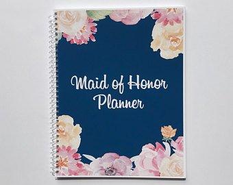 planificacion de la dama de honor