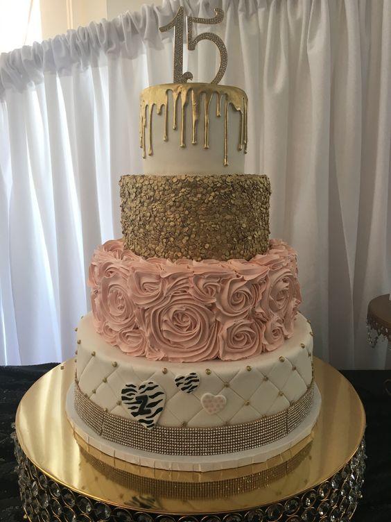 pasteles para xv años