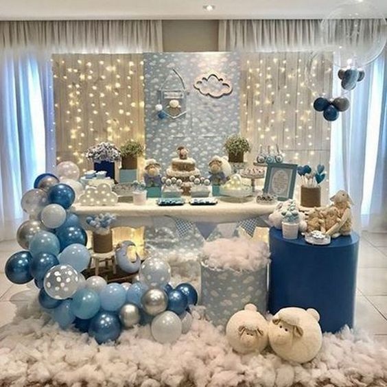 baby shower borregos niño