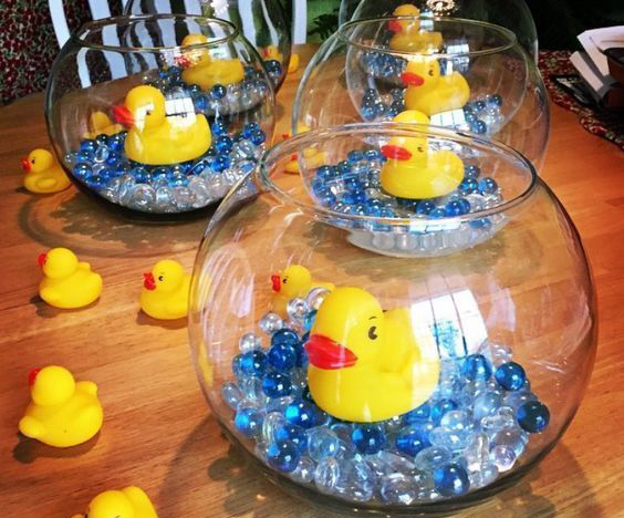 baby shower patitos