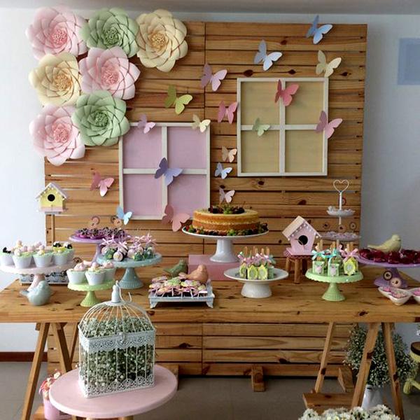 mariposas decoracion cumpleaños
