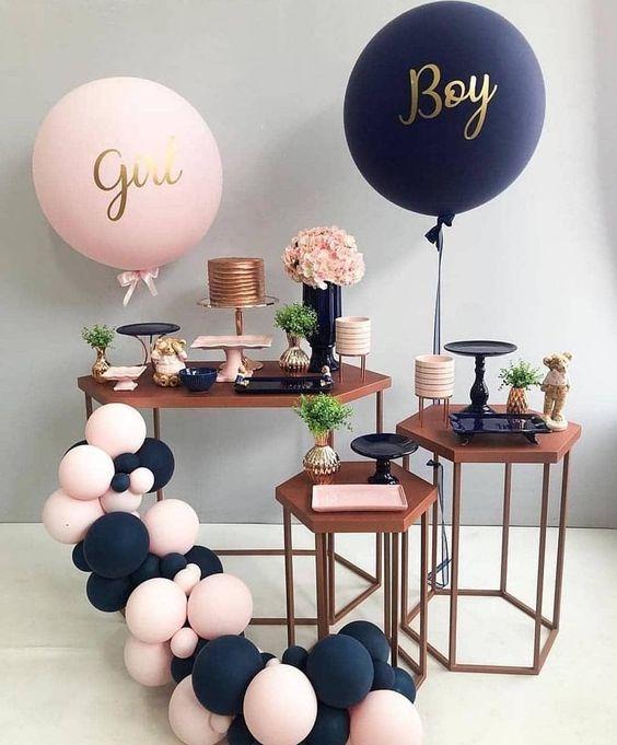 globos gigantes para baby shower
