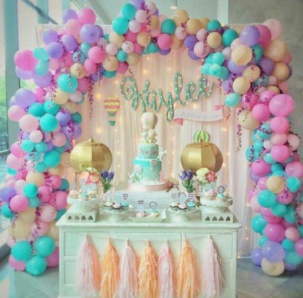 fiesta unicornio para niña