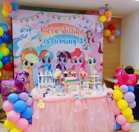 decoracion niña my little pony