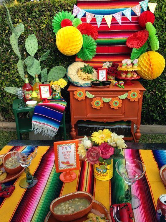 cumpleaños fiesta mexicana