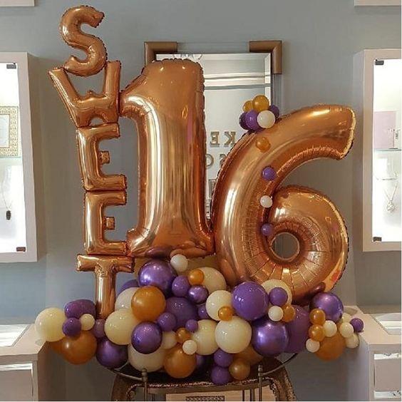 decoracion globos dulces 16