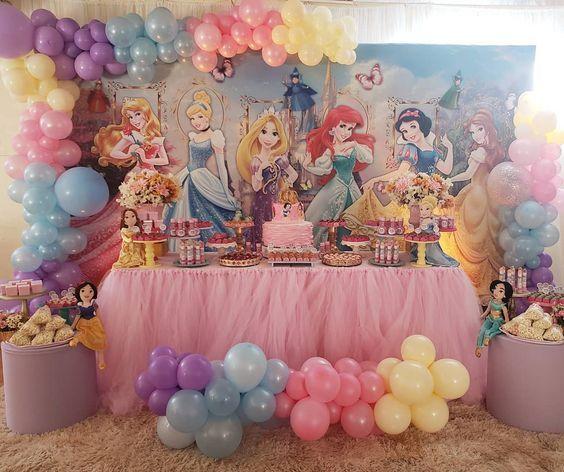 decoracion fiesta princesas