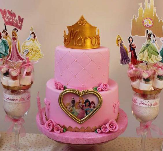 ideas cumpleaños de princesas
