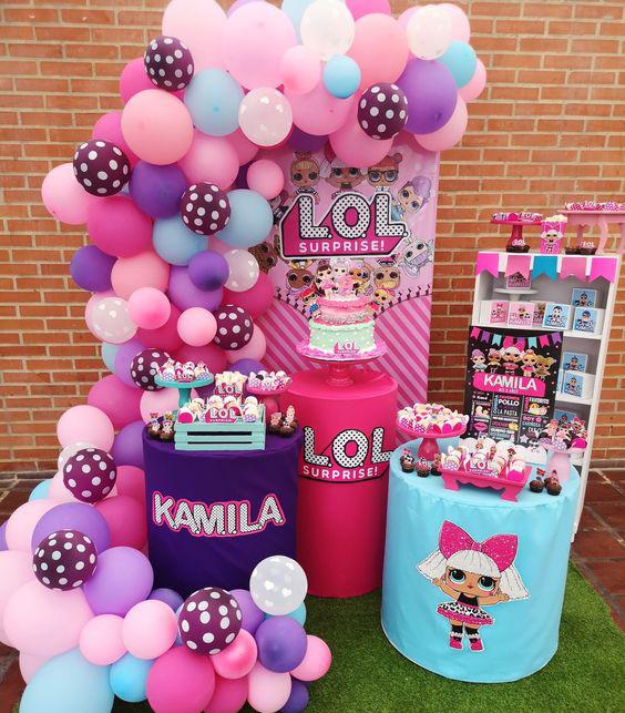 fiesta infantil muñecas para niñas