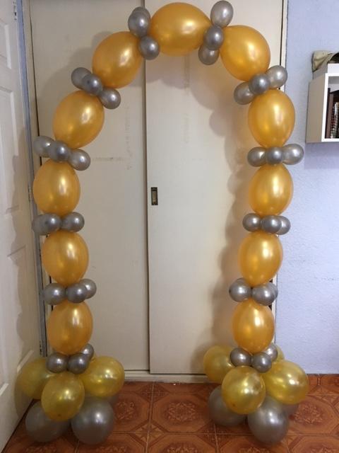 como hacer un arco de globos bipolo con helio