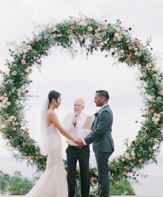 decoracion para boda con flores