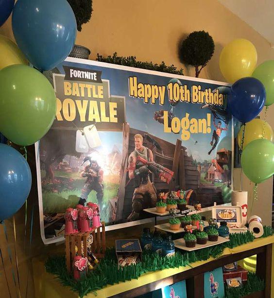 ideas de cumpleaños de video juegos