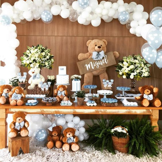 ideas baby shower niño