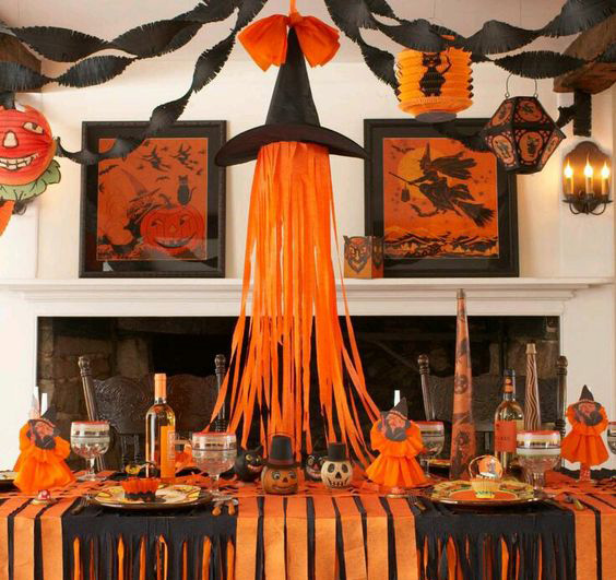 decoracion en casa de halloween