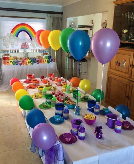 decoracion fiesta infantil en casa