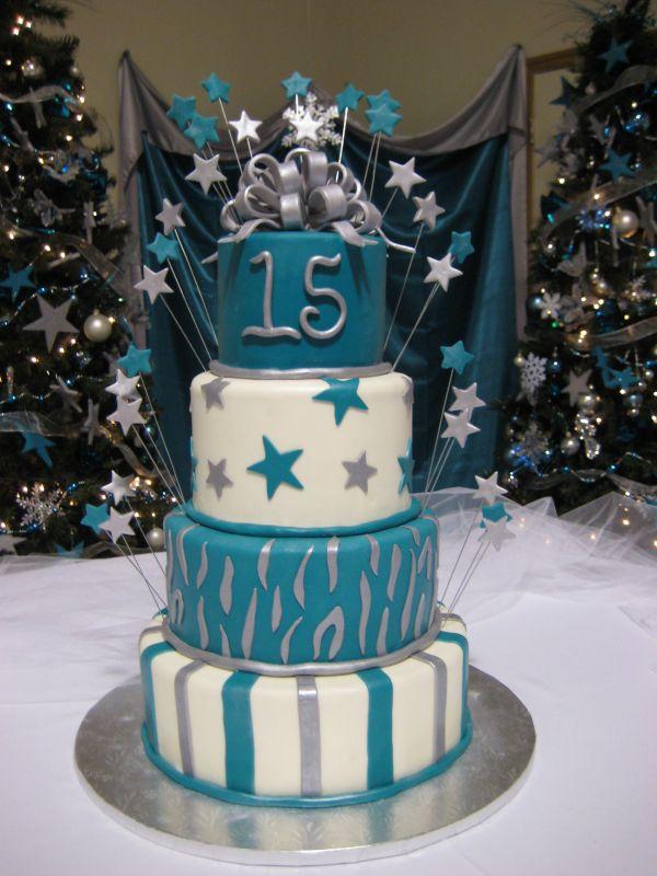 pastel para xv años