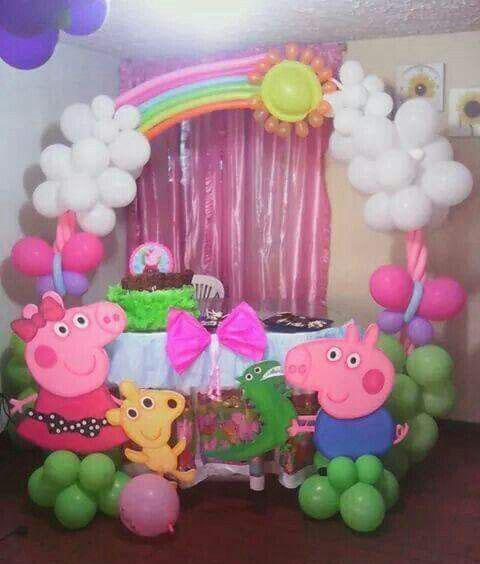 arreglo de fiesta peppa pig