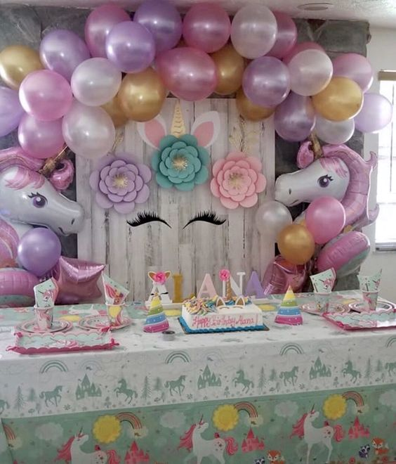 Decoración Baby Shower Unicornio Decoracion Para Fiestas