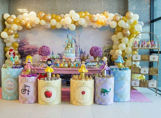 decoracion princesas disney