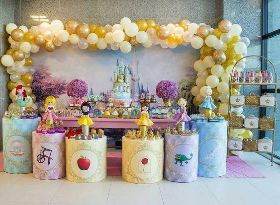 decoracion princesas disney