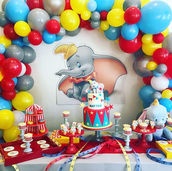 decoracion fiesta dumbo