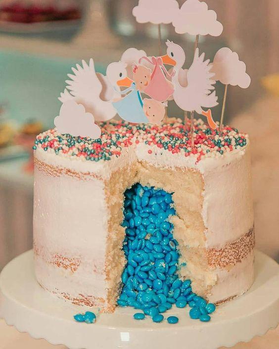 revelacion de genero con pastel
