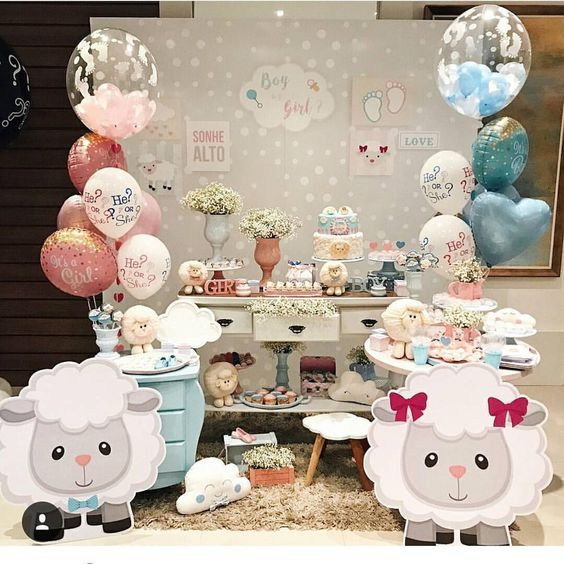 baby shower de borreguitos