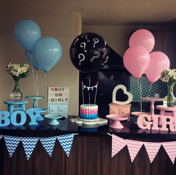baby shower en casa temtica gender party
