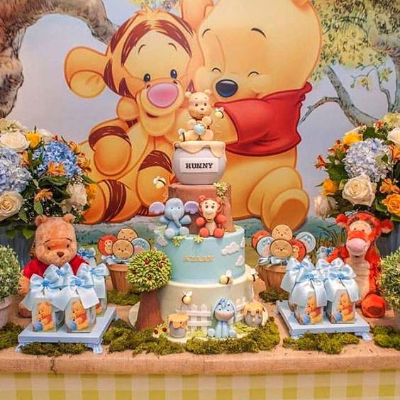 baby shower winnie the pooh