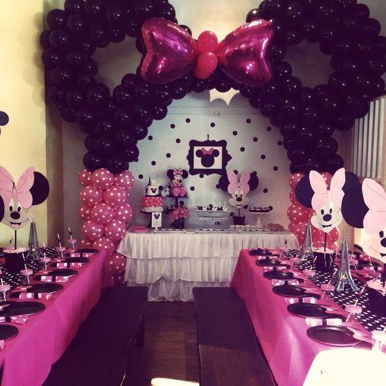 decoracion fiesta minnie