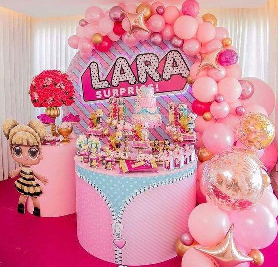 decoracion fiesta lol surprise dolls