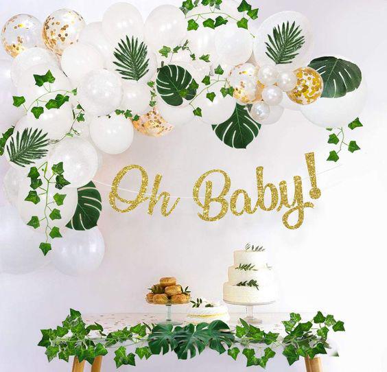 baby shower en casa