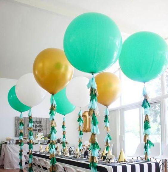 globos gigantes para cumpleaños infantil