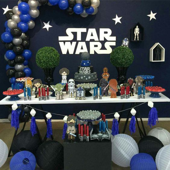 decoracion fiesta star wars