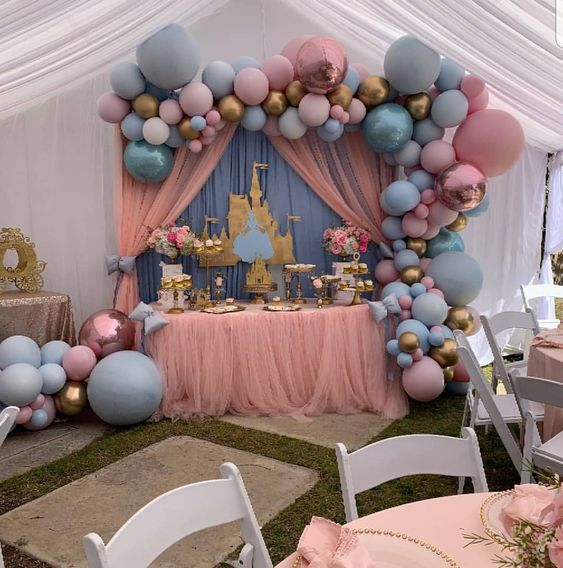 fiesta princesa decoracion