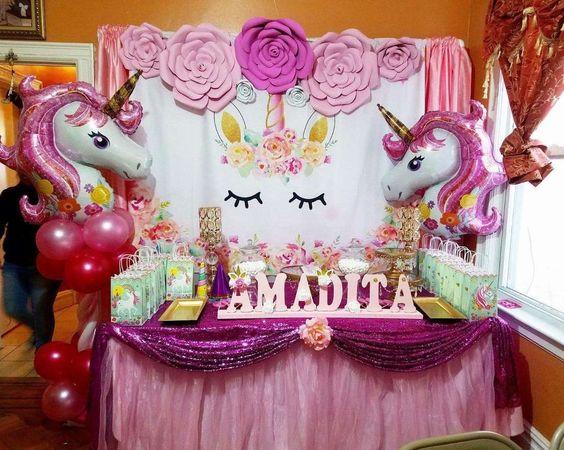 Decoración Baby Shower Unicornio Decoracion Para Fiestas