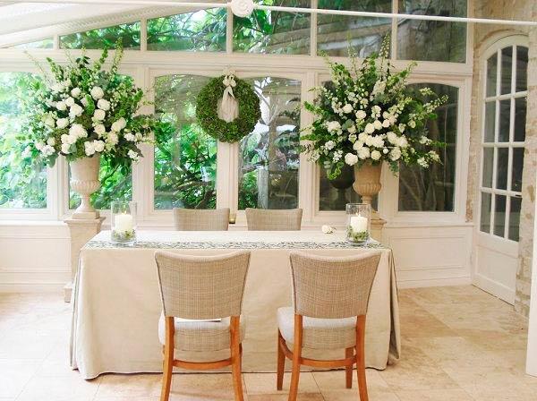 decoracion de boda en casa