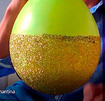 globos con confeti para fiesta