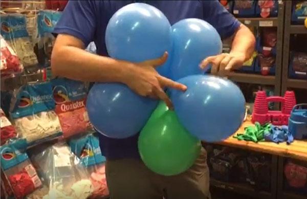 arreglos simples con globos
