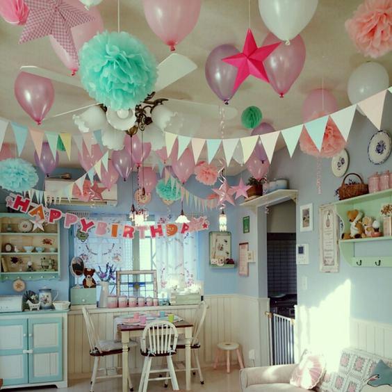 cumpleaños infantil en casa